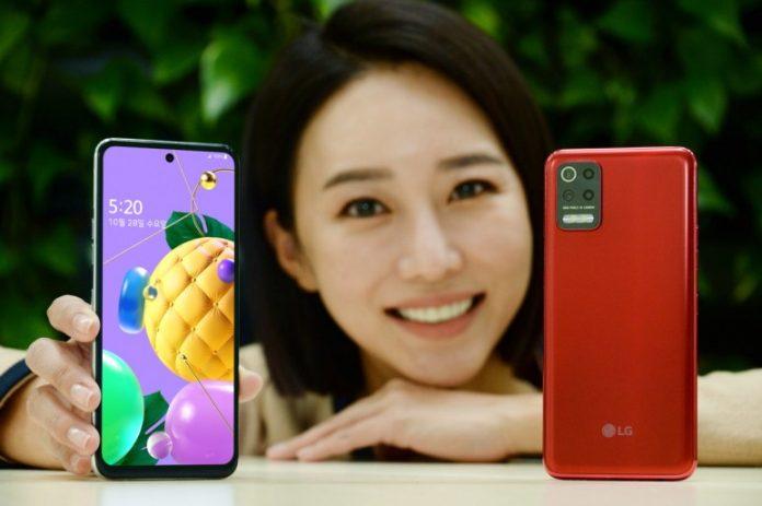 LG Q52 ra mắt