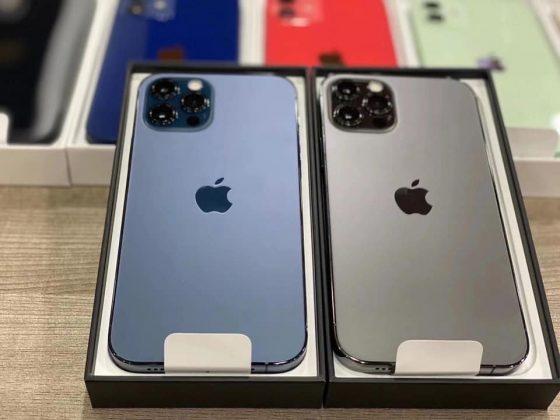 màu thật iPhone 12 series