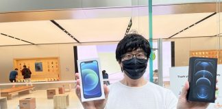 mở bán iPhone 12