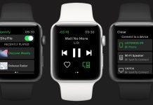 spotify trên apple watch