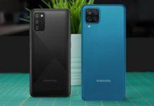 Galaxy A12 và A02s ra mắt