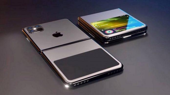 iPhone có thể gập lại