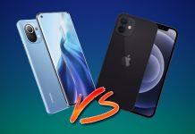 So sánh chi tiết bộ đôi smartphone Xiaomi Mi 11 và Apple iPhone 12