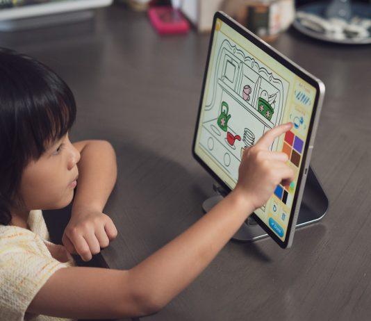 quà tặng công nghệ cho bé