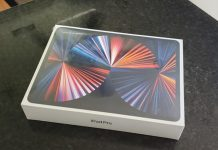 đập hộp iPad Pro 2021
