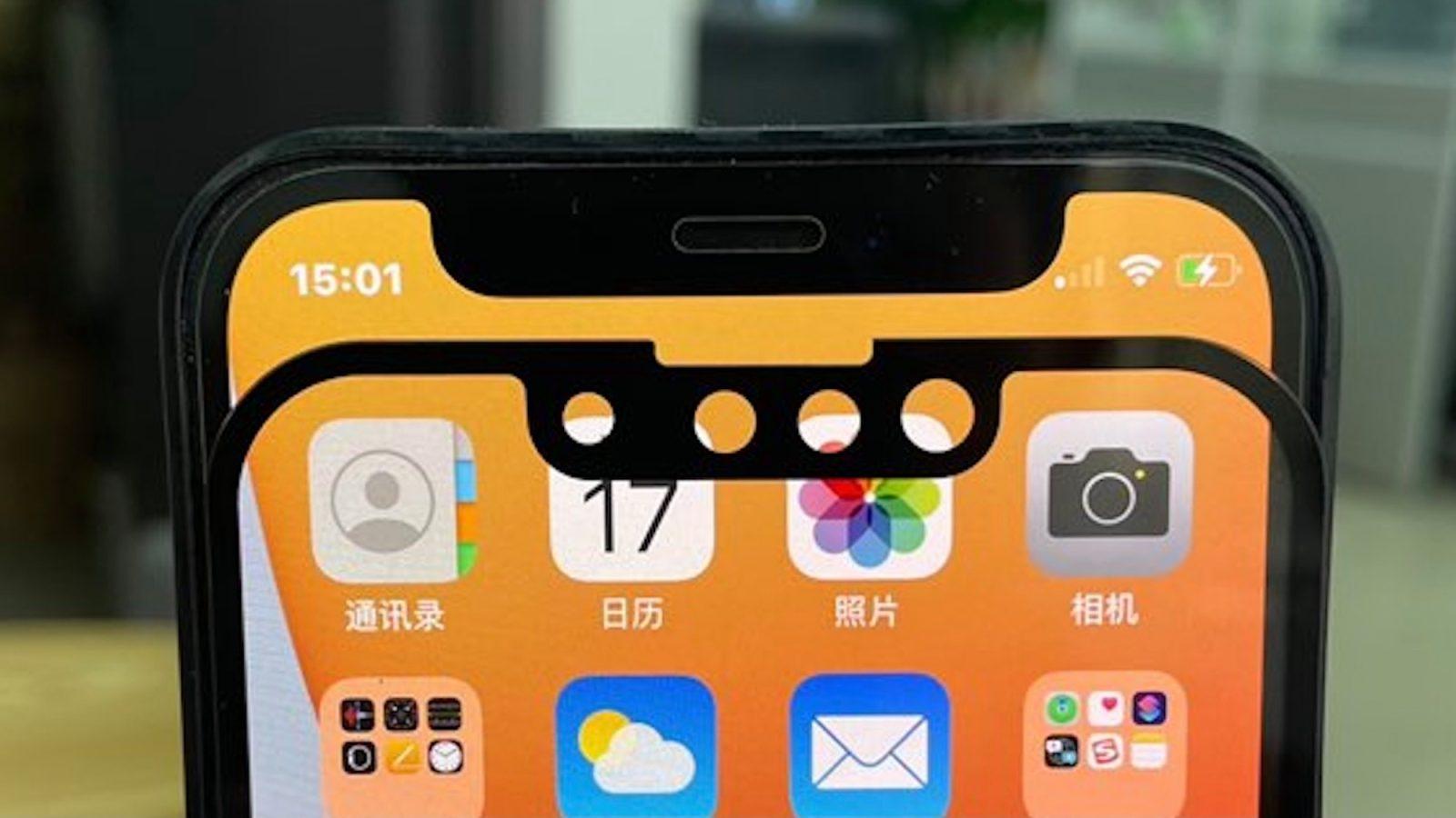 """Apple đang phát triển một hệ thống chip cảm biến Face ID nhỏ hơn để thu gọn """"tai thỏ"""""""