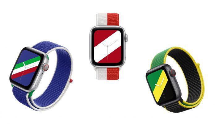 Apple Watch màu quốc kỳ