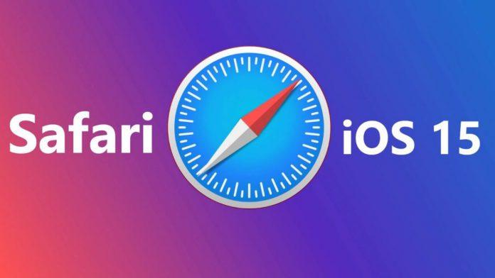 trình duyệt Safari trên iOS 15