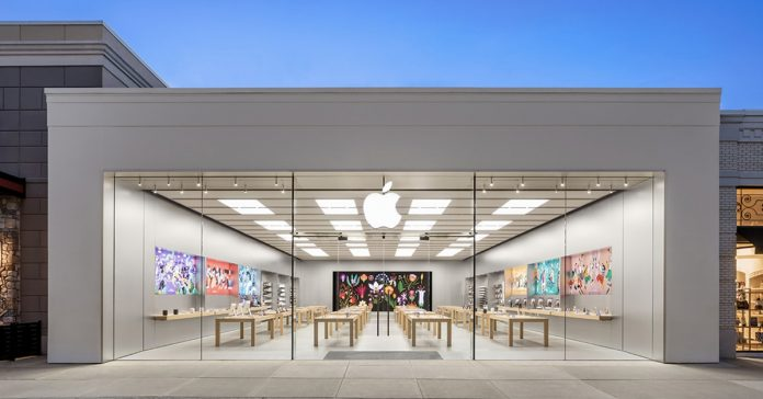 Apple Store mở cửa trở lại