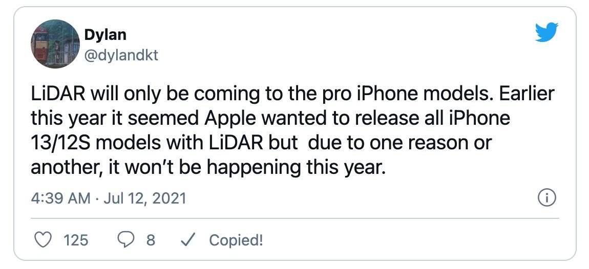 thông tin iPhone 13