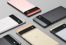 Google Pixel 6 ra mắt