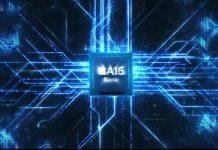 GPU chip A15 Bionic